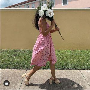 Kate Spade Cherry Poplin Dress